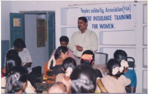 Micro Insurance Training for rural women