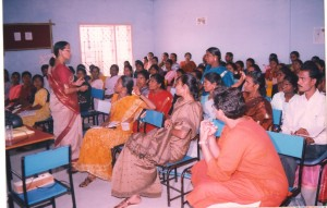 Training to rural teachers